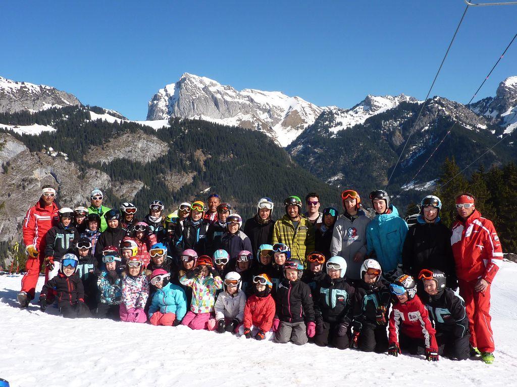 Le ski club de La Chapelle